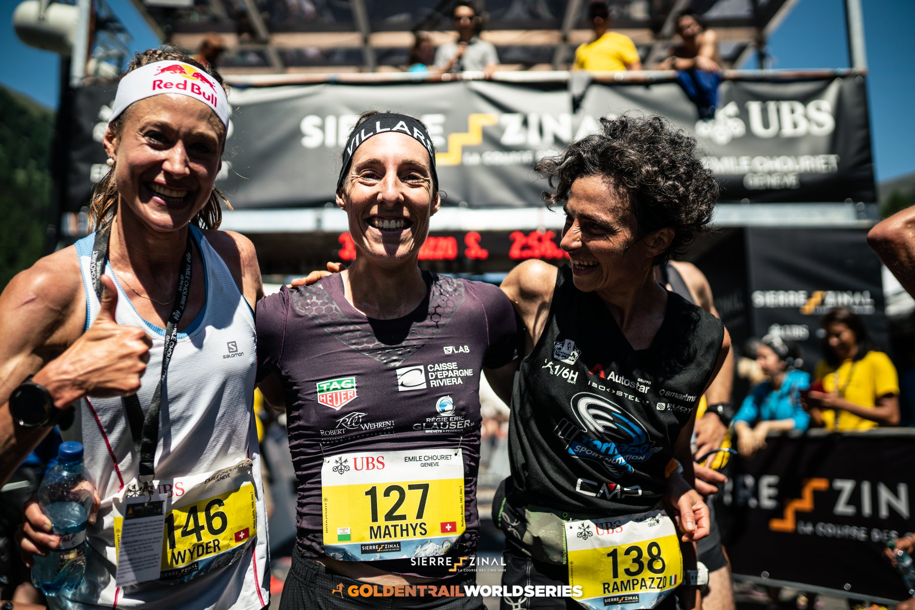 Sierre Zinal Women Podium